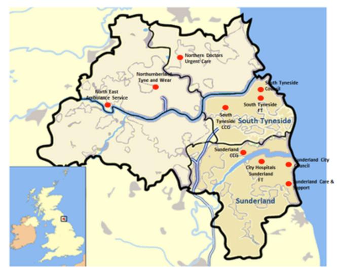 LDR map